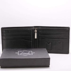 Birch Leathers Bags - ⚠3/$9 NIB! Men's Tri-Fold Leather Wallet w/ RFID